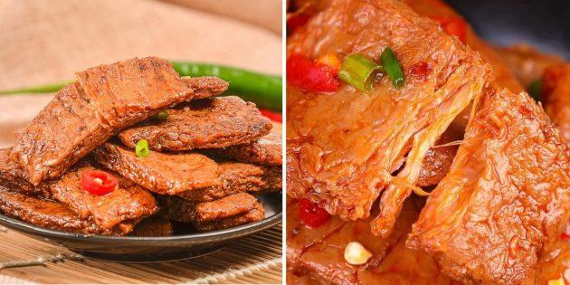 Странные блюда: вегетарианский стейк