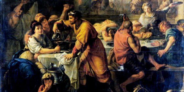 Новогодние традиции Древнего Рима: Сатурналии