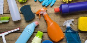 Сколько можно хранить чистящие средства и что делать со старыми