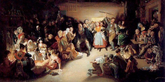 Новогодние традиции древних кельтов: Самайн