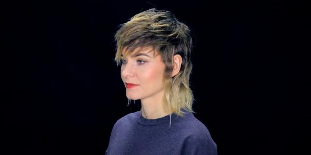 Женские стрижки для тонких волос: маллет