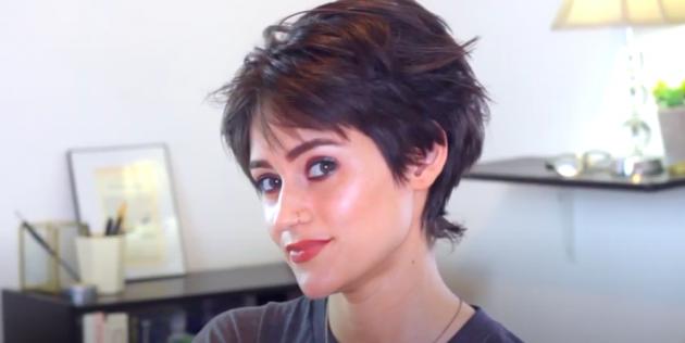 Женские стрижки для тонких волос: «отросшая» пикси