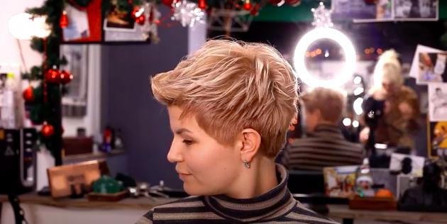 Женские стрижки для тонких волос: пикси
