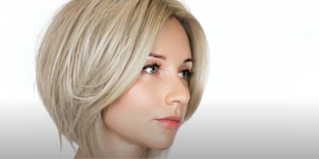 Женские стрижки для тонких волос: боб
