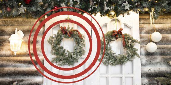 Тест на зоркость: какой рождественский венок отличается от остальных?
