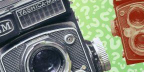 Тест на зоркость: найдите отличия на картинках с фотоаппаратами!