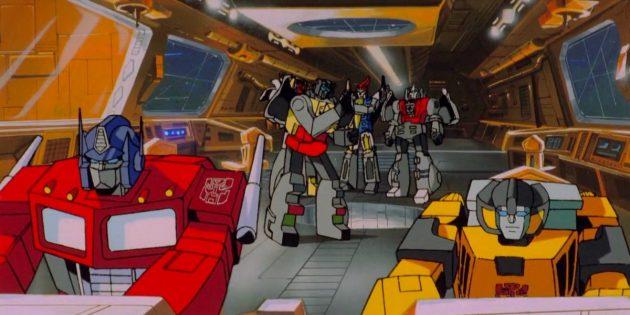 Мультфильмы про роботов: «Трансформеры»
