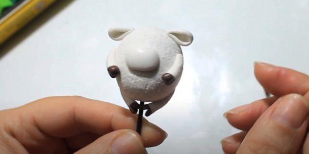 Как сделать быка своими руками: закрепите уши