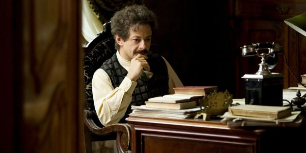 Кадр из фильма «Эйнштейн и Эддингтон»
