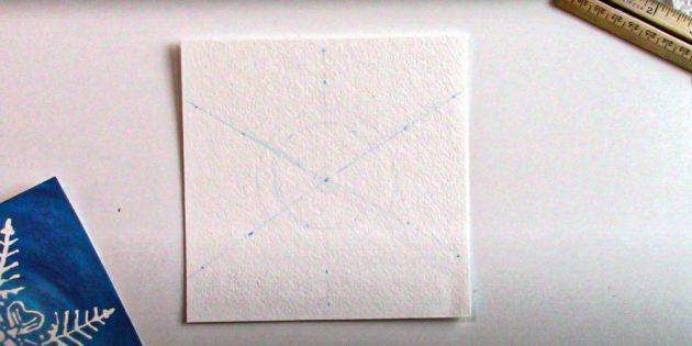 Проведите три линии
