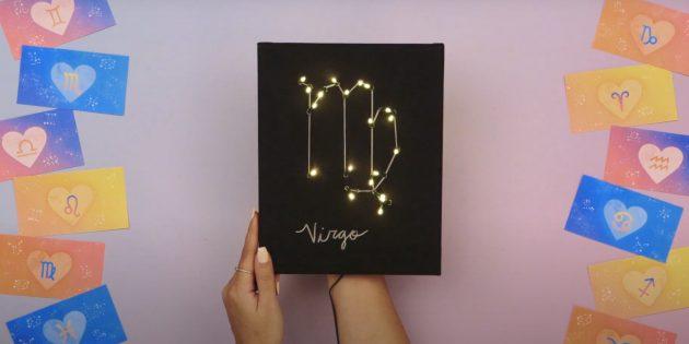 Подарки на Новый год своими руками: зодиакальное созвездие