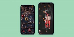 12 новогодних обоев для смартфона