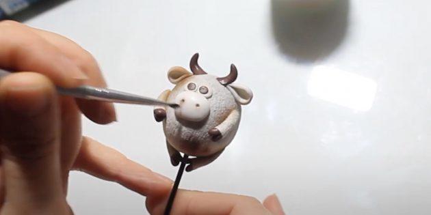 Как сделать быка своими руками: изобразите ноздри