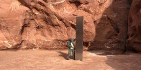 В пустыне Юты обнаружили загадочный обелиск. Почти как в фильме Стэнли Кубрика