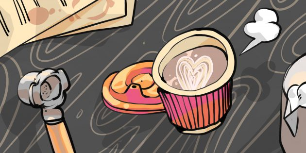 Служебный роман в кофейне