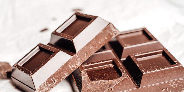 В каких продуктах содержится магний: тёмный шоколад