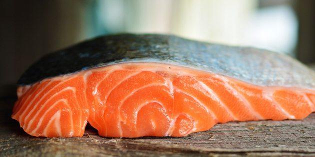 В каких продуктах содержится магний: жирная рыба