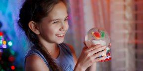 12 простых способов сделать снежный шар своими руками