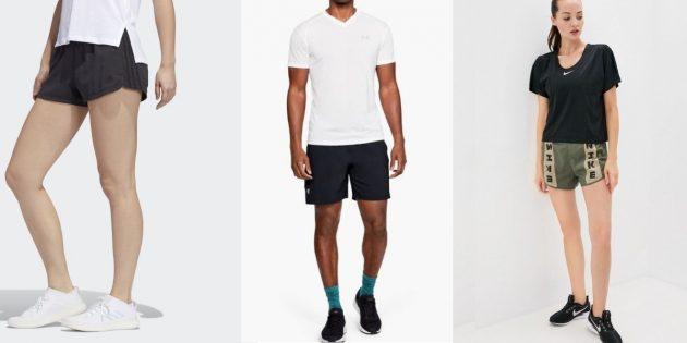 Элементы стиля горпкор: короткие шорты