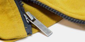 Лайфхак: как починить сломанную молнию на одежде