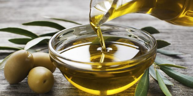 Продукты, повышающие тестостерон: оливковое масло первого отжима