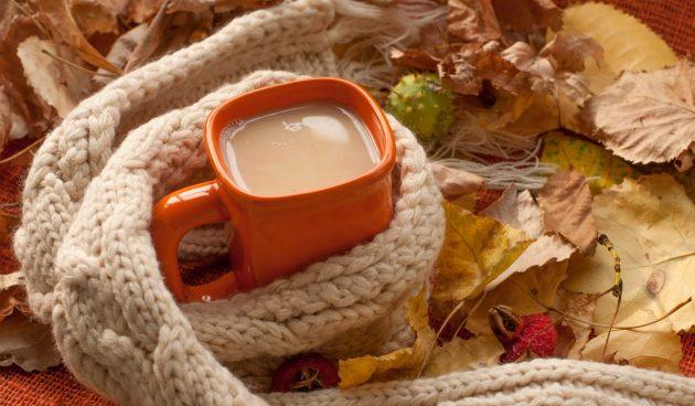Молочный чай с корицей