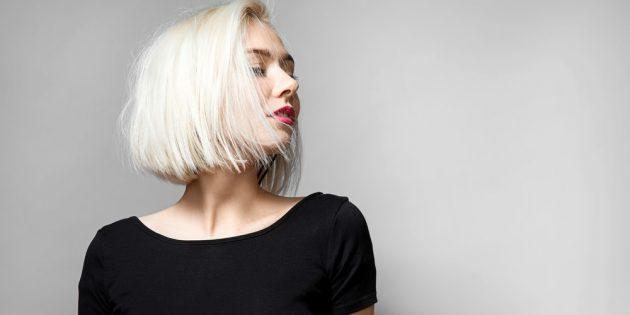 Модные цвета волос — 2021: ледяной блонд (айс-блонд)