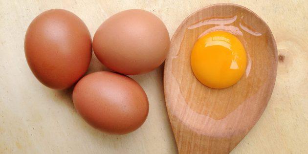 яПродукты, повышающие тестостерон: ичный желток