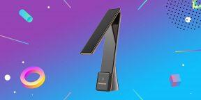 Надо брать: беспроводная лампа Panasonic в элегантном складном корпусе