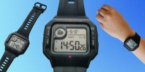 Обзор Amazfit Neo — умных часов с ретродизайном, которые месяц продержатся без зарядки