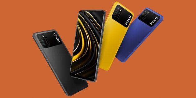 Представлен бюджетный смартфон POCO M3 с батарейкой на 6000мА·ч