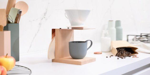 Полезные вещи своими руками: подставка-фильтр для кофе