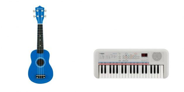 Что подарить дочке на Новый год: музыкальный инструмент