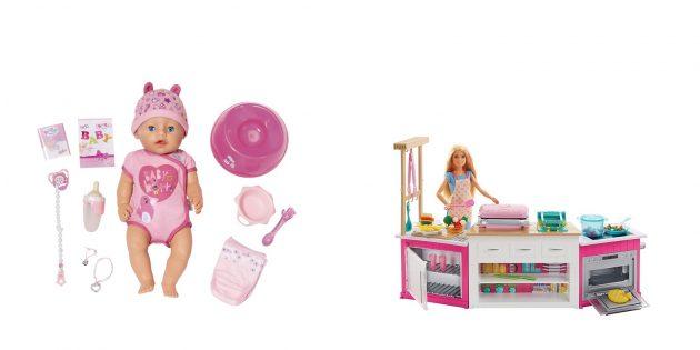 Что подарить дочке на Новый год: кукла с аксессуарами