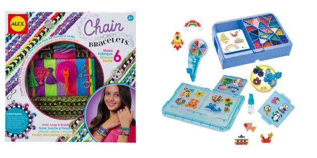 Подарки дочке на Новый год: набор для творчества