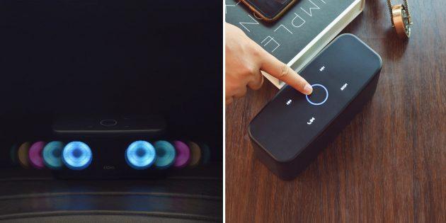 10 портативных колонок с необычным дизайном с AliExpress: с подсветкой и сенсорным управлением