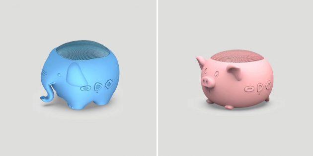 10 портативных колонок с необычным дизайном с AliExpress: в виде забавных животных