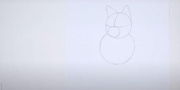 Нарисуйте большой круг