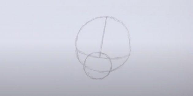 Нарисуйте маленький круг