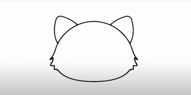 Нарисуйте уши