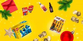 Косметика для мужчин и женщин, товары для дома и другие идеи недорогих подарков на Новый год