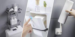 10 полезных органайзеров для туалета с AliExpress
