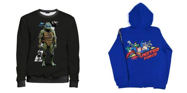 Что подарить сыну на Новый год: одежда с супергероями