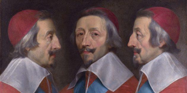 Филипп де Шампань «Тройной портрет кардинала Ришелье»