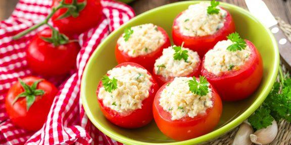 Чем нафаршировать помидоры, чтобы было вкусно и красиво