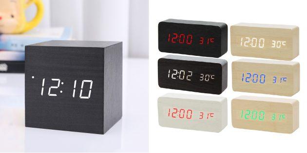 Минималистичный электронный будильник