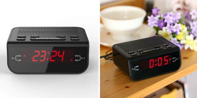 Электронный будильник с FM-тюнером