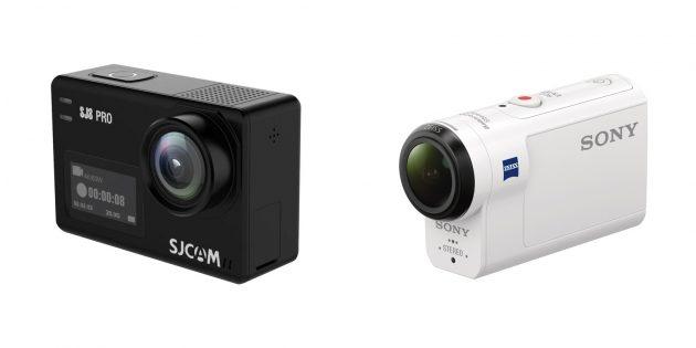 Подарки сыну на Новый год: Экшен-камера