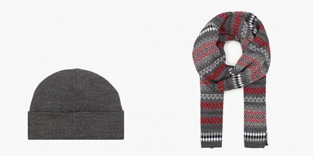 Комплект зимних мужских аксессуаров Marks & Spencer