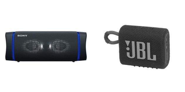 Что подарить сыну на Новый год: Bluetooth-колонка